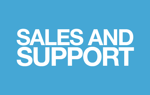 Sales and Support Jobs